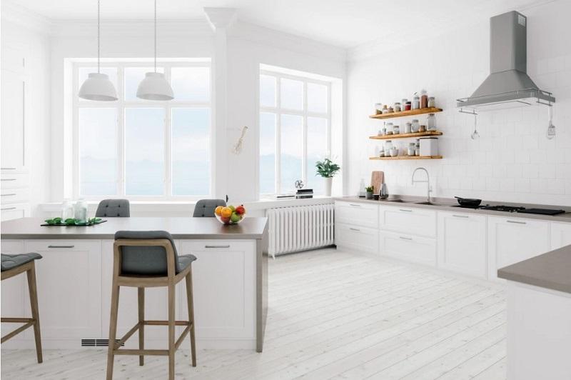 Os estilos minimalista e escandinavo fazem uso de materiais diferentes.