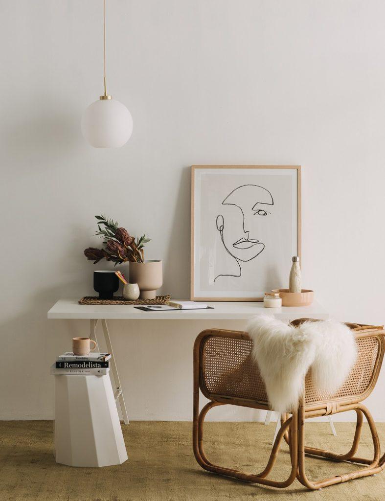 Obra de arte apartamento minimalista