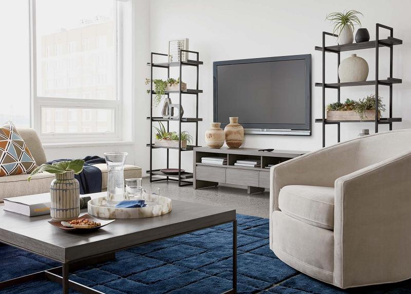 Sala de estar confortável para receber visitas