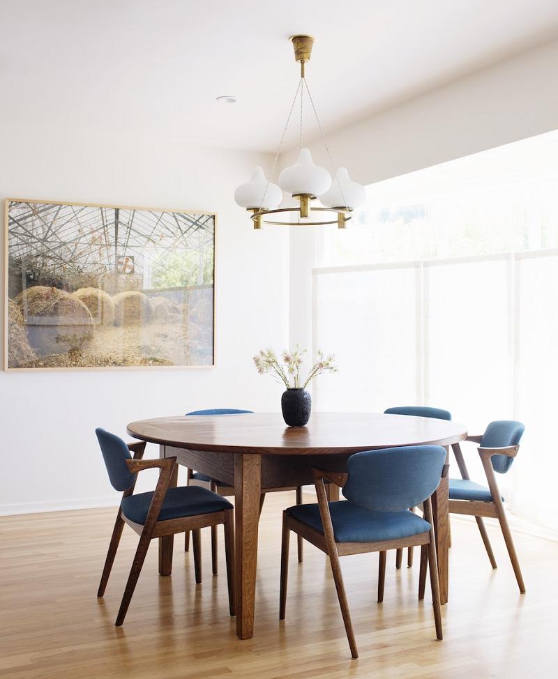 Candeeiros suspensos são ideais para a mesa de jantar